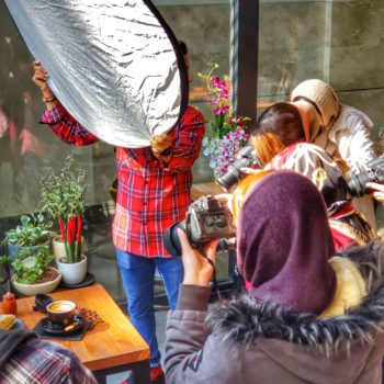 ورکشاپ عکاسی در کافه