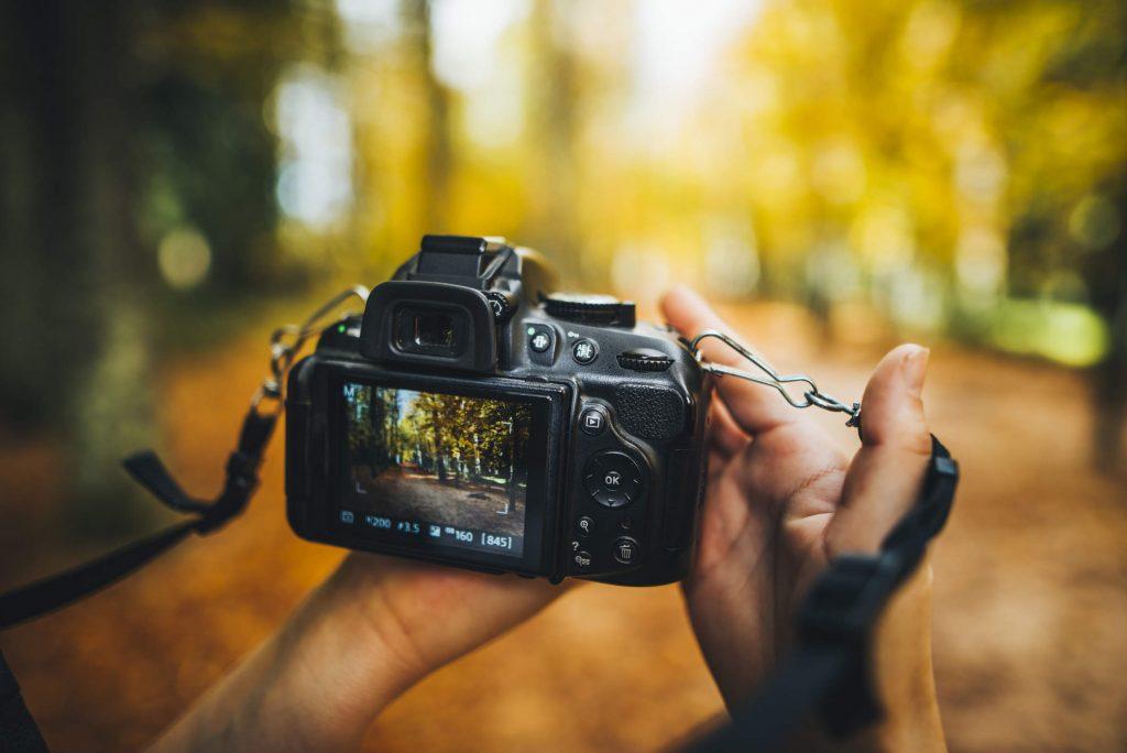 تنظیمات دوربین عکاسی