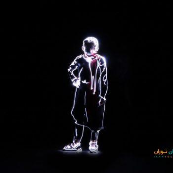 ورکشاپ نقاشی با نور